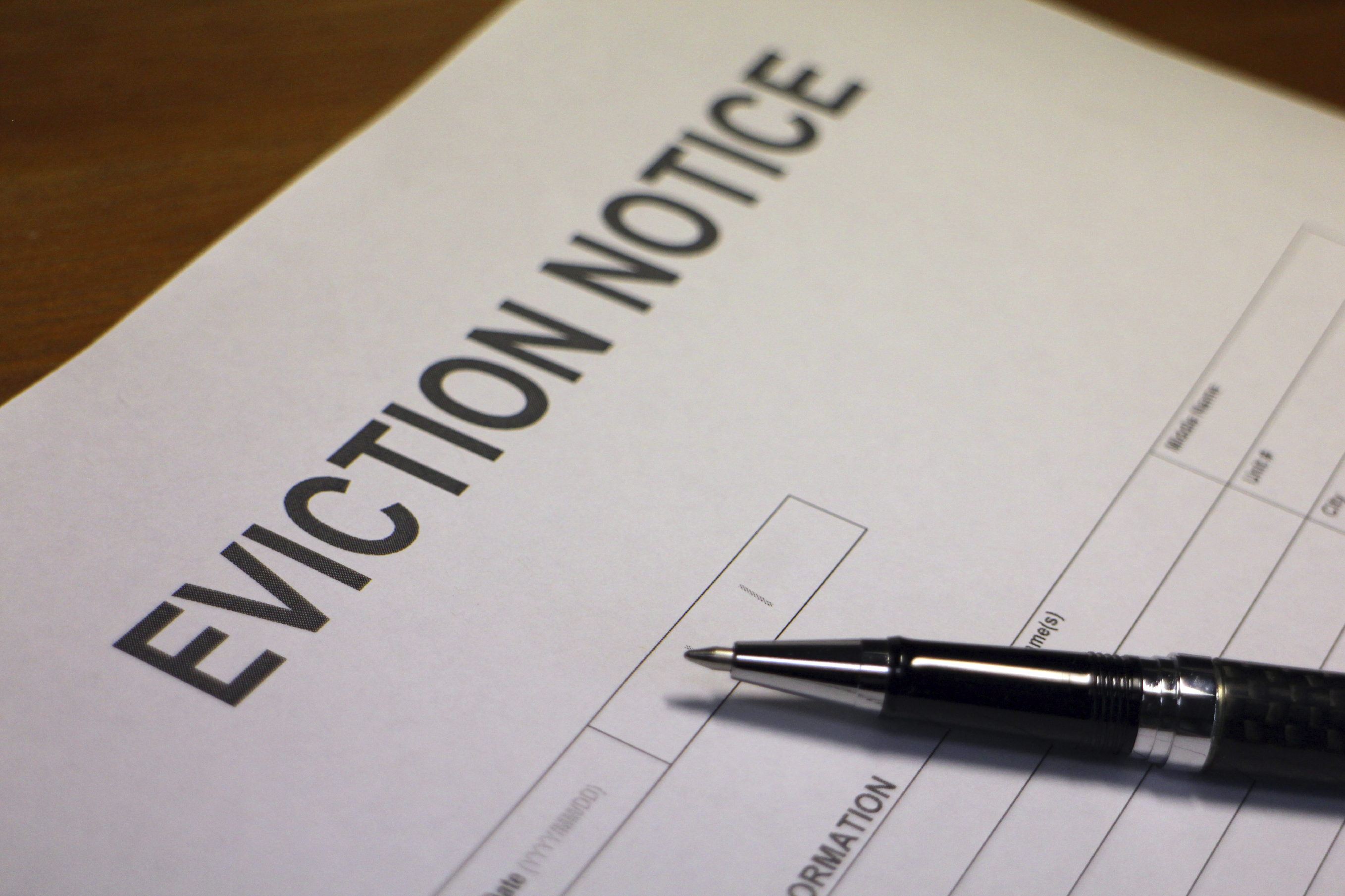 Tenant Eviction Section 21 notices