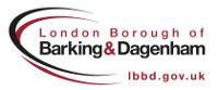 barking and dagenham logo property letting