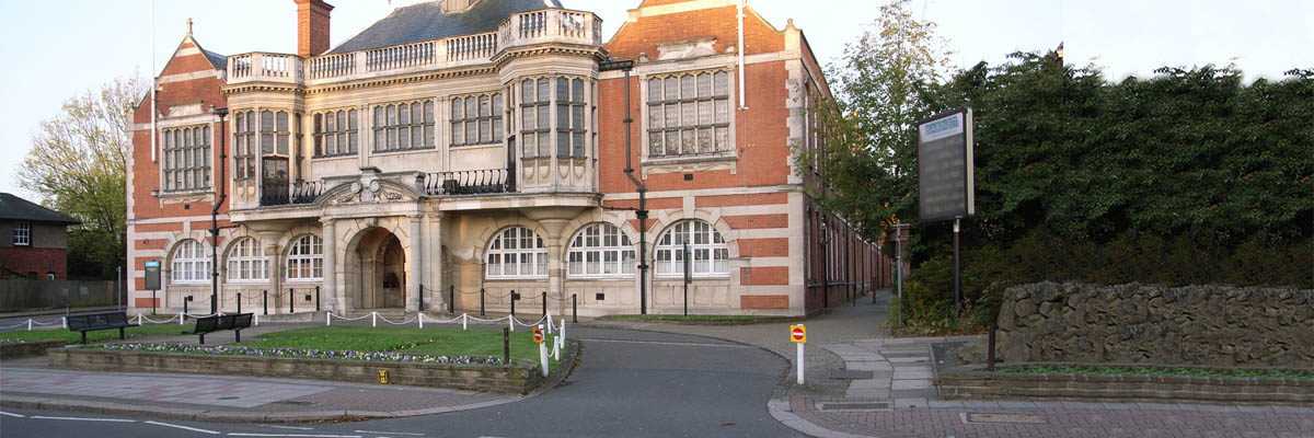 Hendon Town Hall header