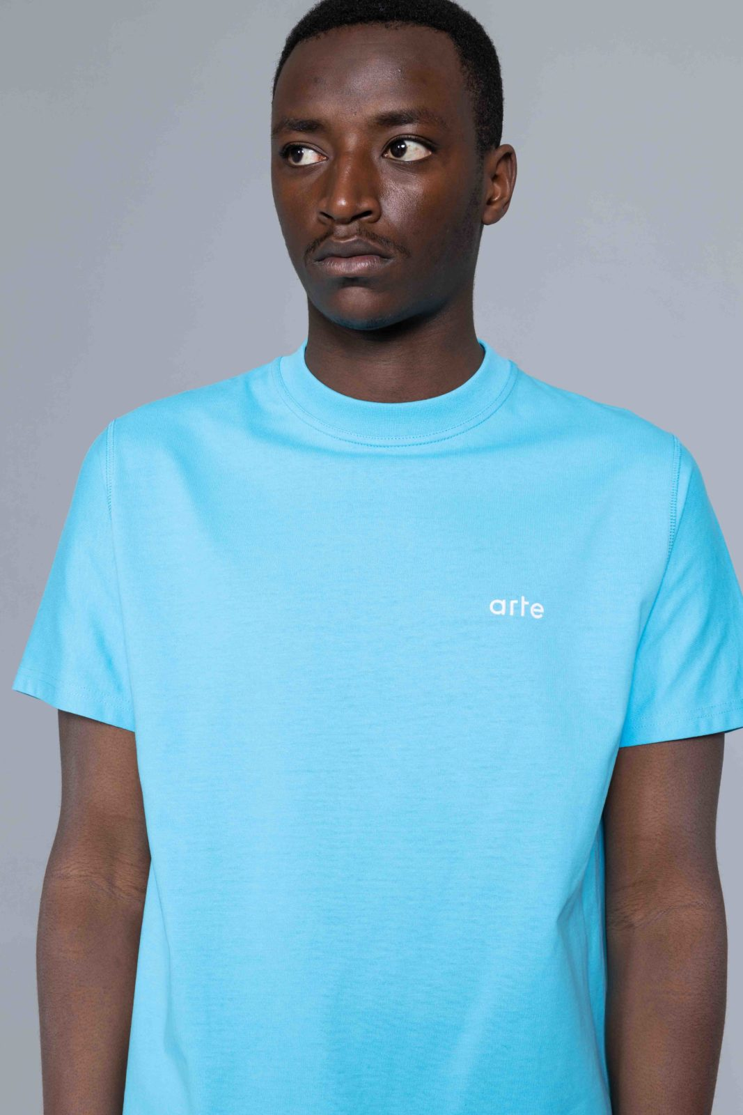 Arte Antwerp T Shirt Troy Tshirt Light Blue