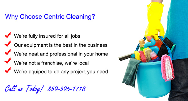 House Cleaning Services Lexington KY - Centric Cleaning - local house cleaning