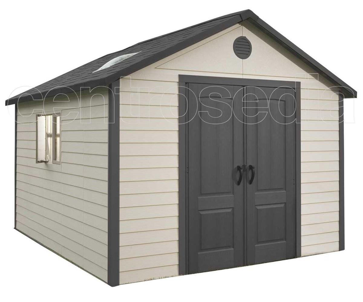 Casetta Giardino In Alluminio : Casette da giardino in alluminio armadi per esterno in legno top