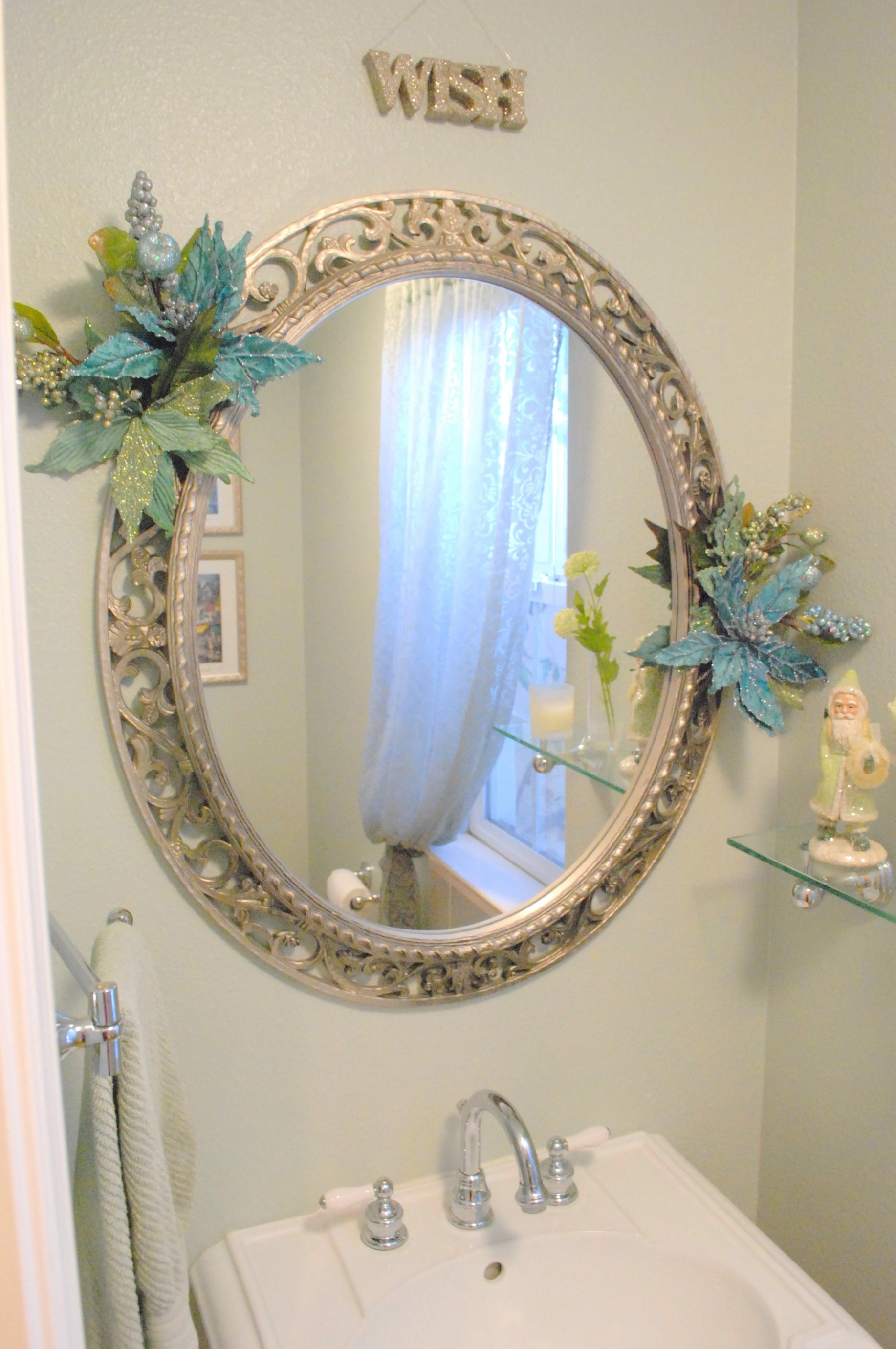 Mirror Decoration Theres No Place Like Home For The Holidays Centsational