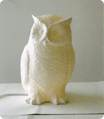 owl lamp willow