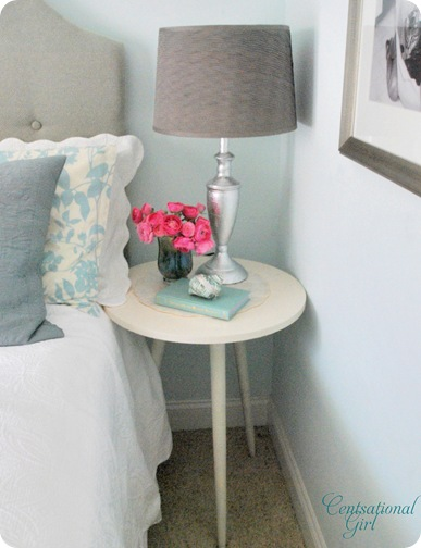 cg end table and lamp