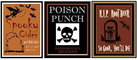 juice soda labels