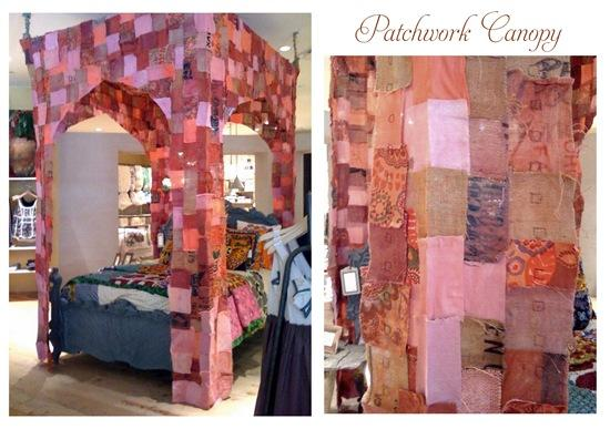 patchwork canopy