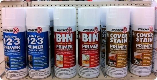 zinsser spray primer