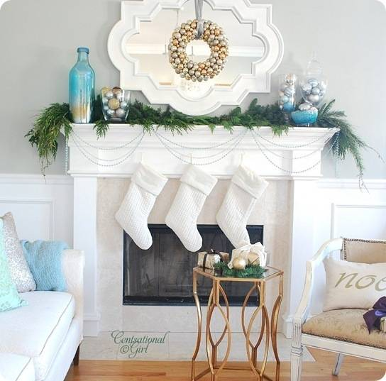 cg holiday mantel