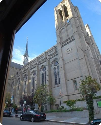 grace cathedral cable car