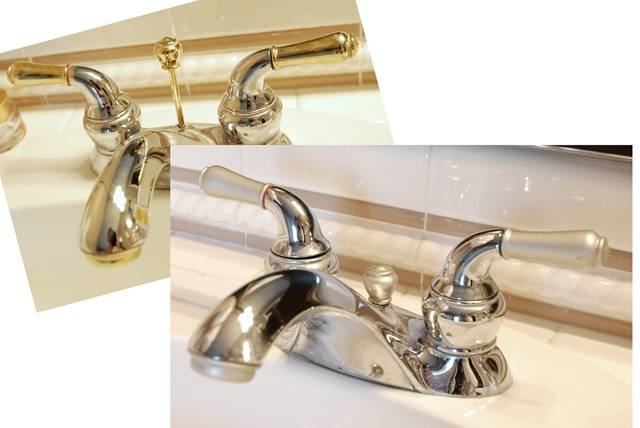 Can You Spray Paint Chrome Faucets