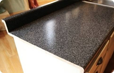Rustoleum Countertop Paint Directions : Another Laminate Countertop Solution Centsational Girl