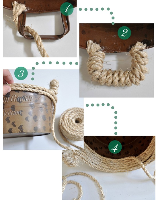 steps for rope bowl