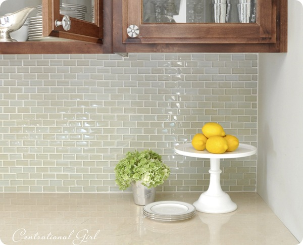 kates glass tile backsplash