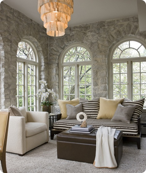 stone walls sunroom massuco warner miller