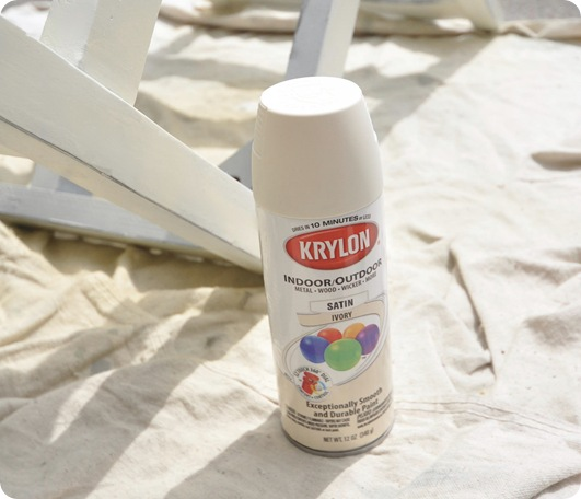 krylon spray paint ivory