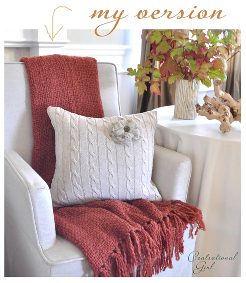 sweater pillow pinterest challenge cg
