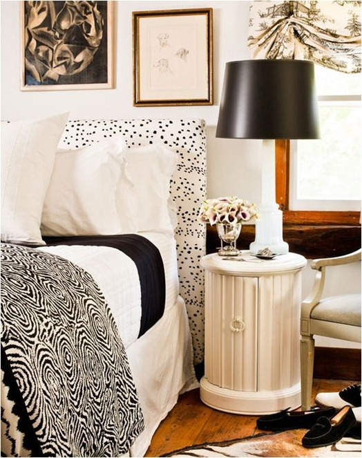 eddie ross black and white bedroom