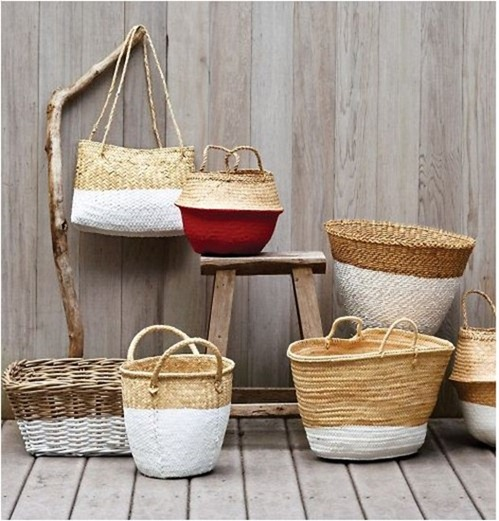 dipped baskets martha
