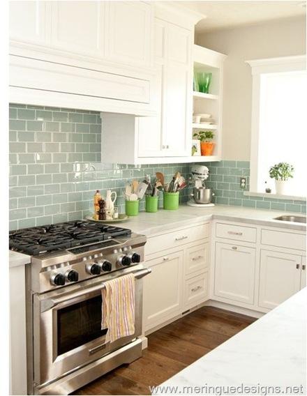 kitchen cherry wood kitchens light blue kitchen backsplash light blue subway tile backsplash backsplash