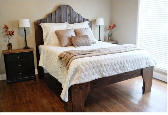 diy build a bed the accent piece blog