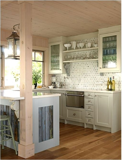 sarah richardson tile in kitchen