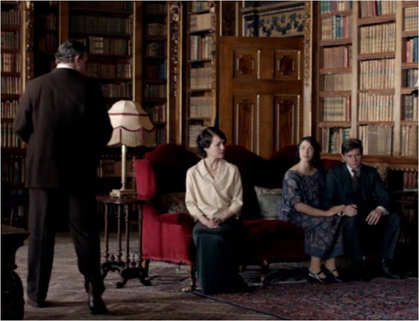 library downton abbey