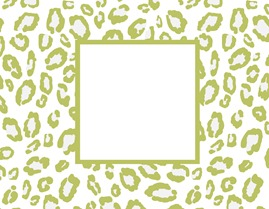 green leopard card