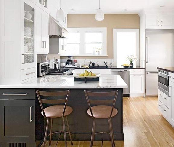 Different Color Upper Lower Kitchen Cabinets - Sarkem.net