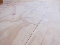 DIY Plywood Plank Floors | Centsational Style