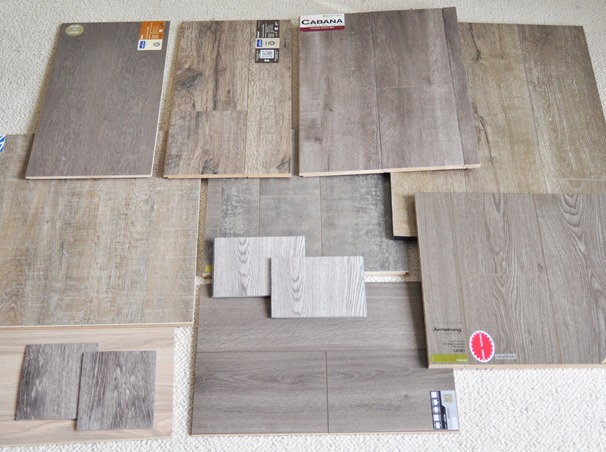 vinyl and laminate options