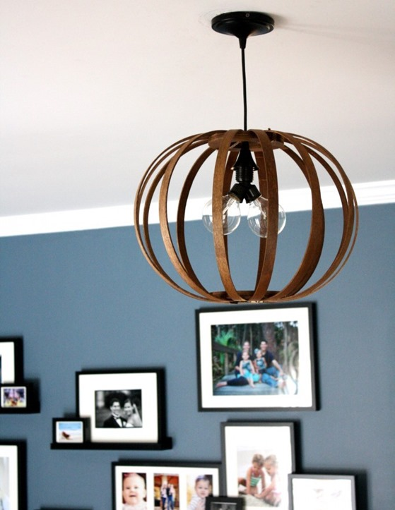 bentwood light diy