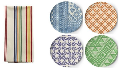 stripe and pattern plates