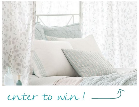 enter to win sprig linens