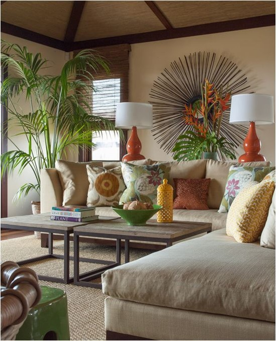 linen and tropical textiles