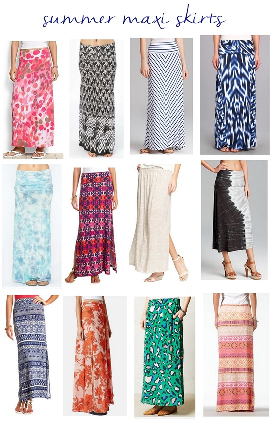 Maxi Skirts for Summer | Centsational Girl