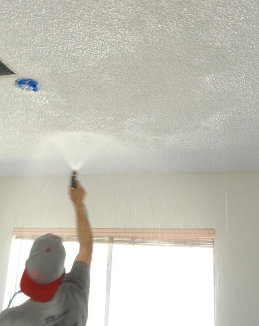 the joy of popcorn ceiling removal centsational girl. Black Bedroom Furniture Sets. Home Design Ideas