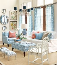 Decorating with Complementary Colors | Centsational Style