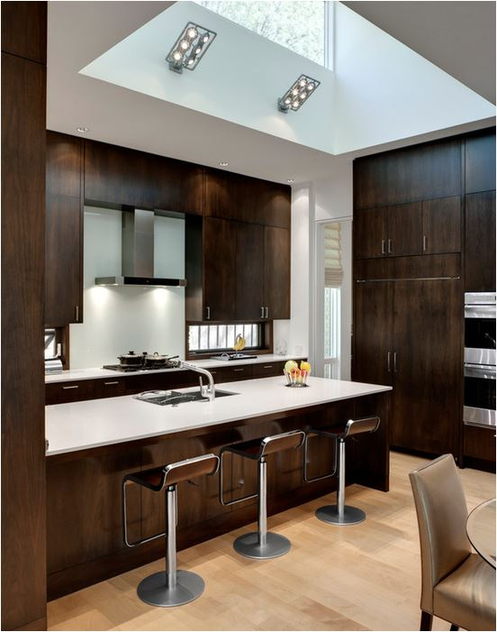 to see more wood kitchen cabinets appearing in featured kitchen