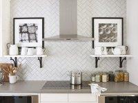 Pattern Potential: Subway Backsplash Tile | Centsational Style