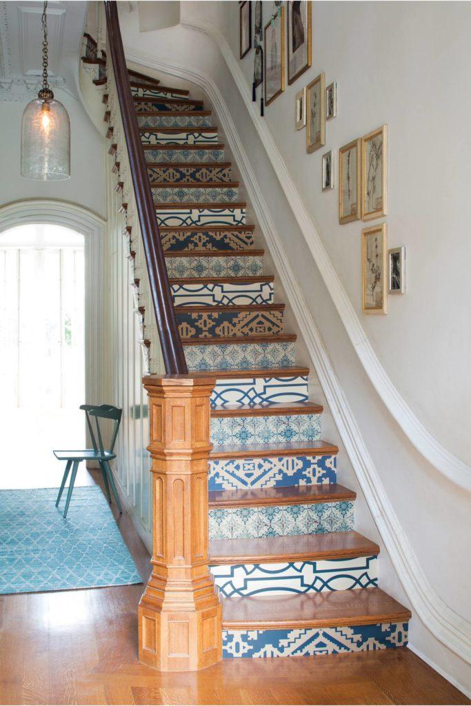 Tiled Staircases | Centsational Girl
