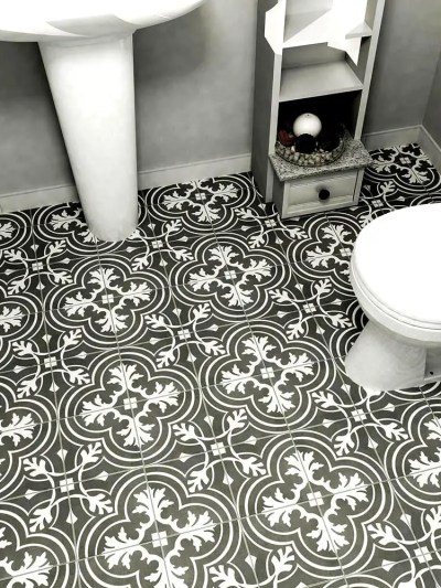 Hexagon Floor Tile slate hexagon tile from jack laurie home floor designs at the indiana design center Cement Look Tile For Less