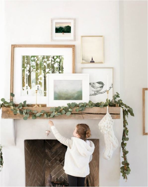 eucalyptus-on-mantel