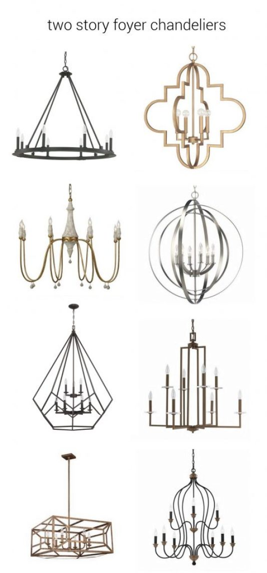 Two Story Foyer Quotes : Foyer chandeliers for two story homes centsational girl