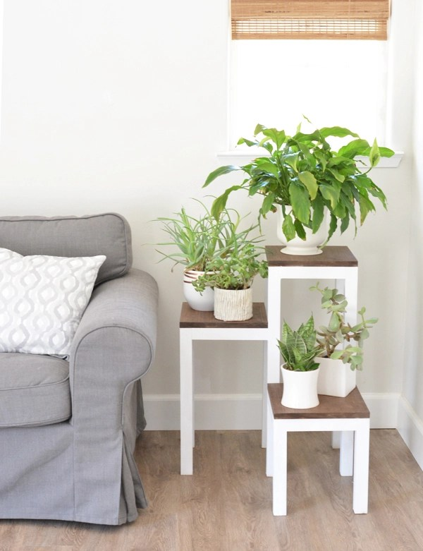 Diy tiered plant stand centsational girl How to build a tiered plant stand