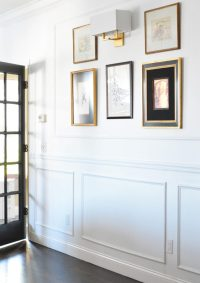 DIY Picture Frame Molding - Decoration