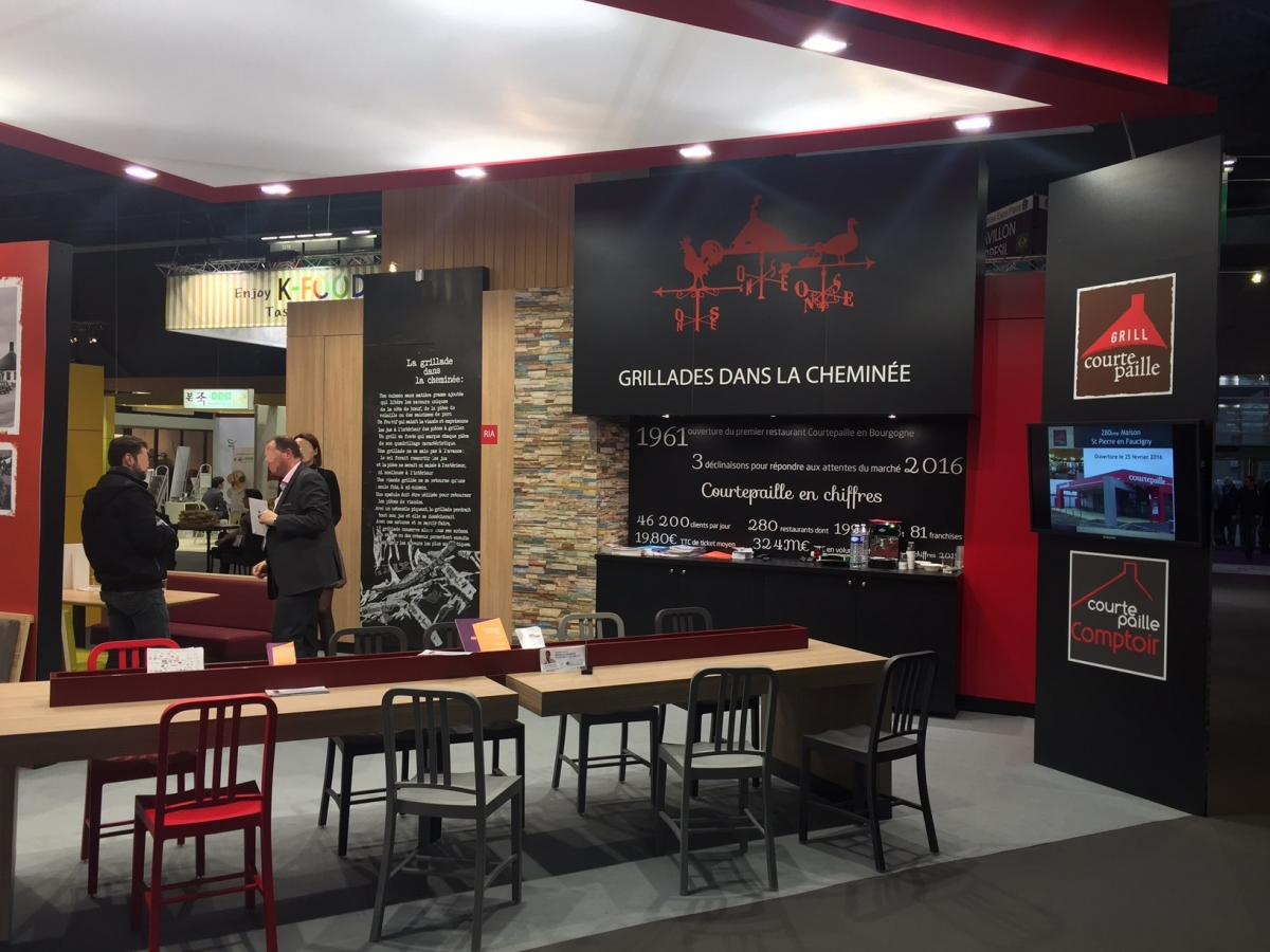 Salon De La Franchise à Paris Stand Courtepaille Salon De La Franchise 2016 Centthor