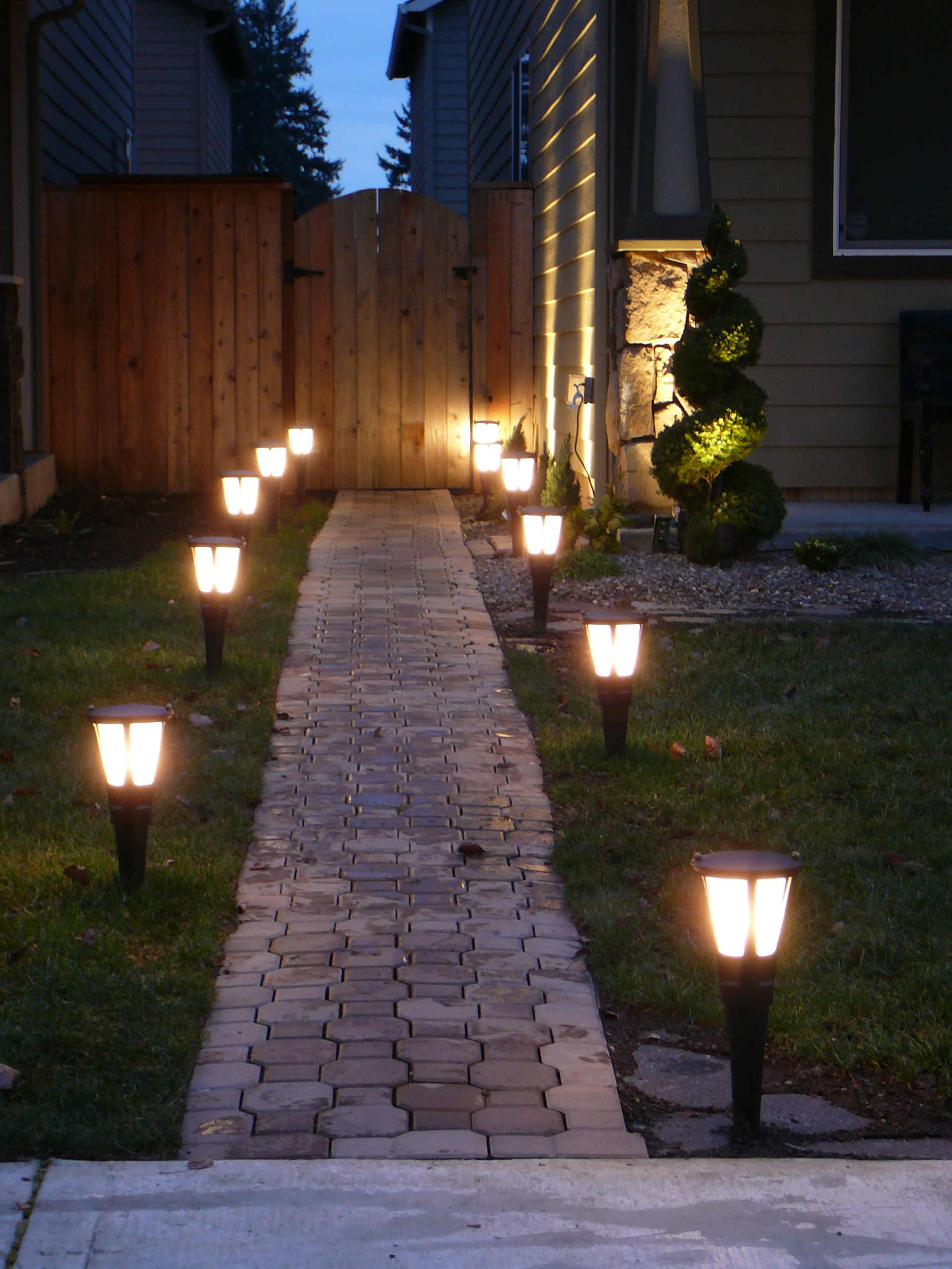 Outdoor Solar Garden Lights 5 Ways To Add Curb Appeal Diary Of The 21st Century