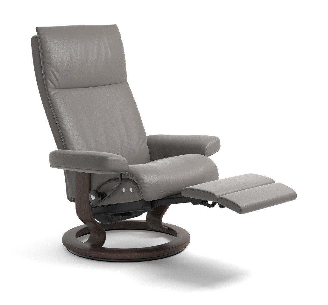 Stresless Stressless Aura Chair With Legcomfort The Century House Madison Wi