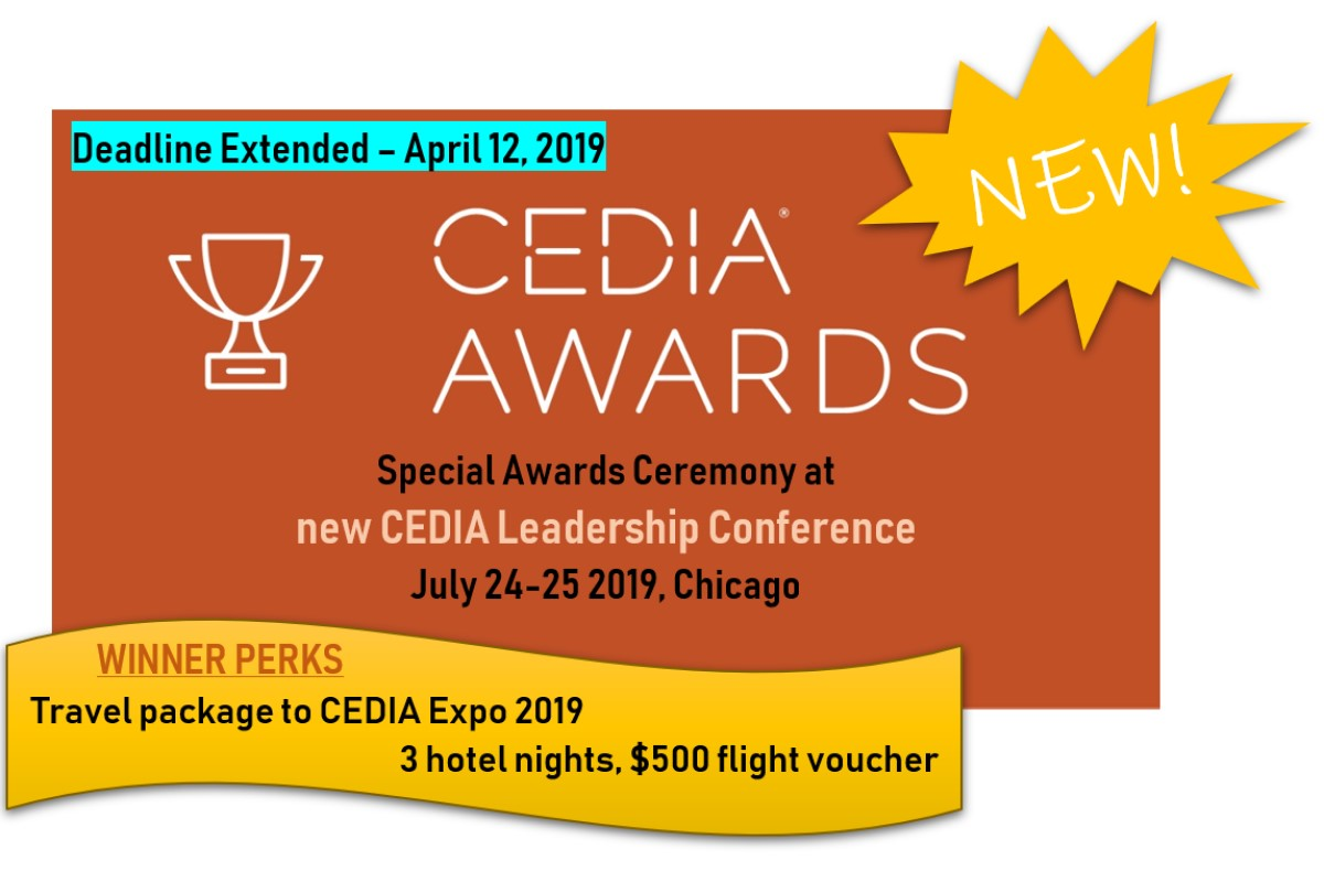 Cedia Exhibitor List New Cedia Awards Celebration Leadership Conference Launches Ce Pro